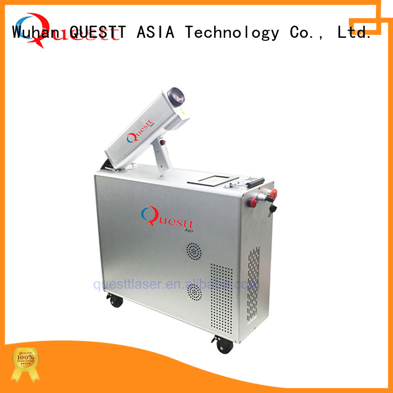 QUESTT Simple operation industrial laser cleaning machine for business For Cleaning Oxide