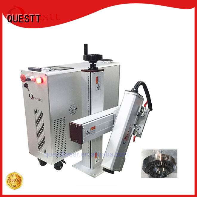 QUESTT Simple operation laser cleaning machine price in China For Rust Removal