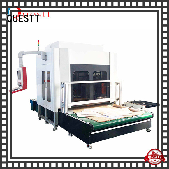 large marking area 3d laser marking system China for non-metal materials