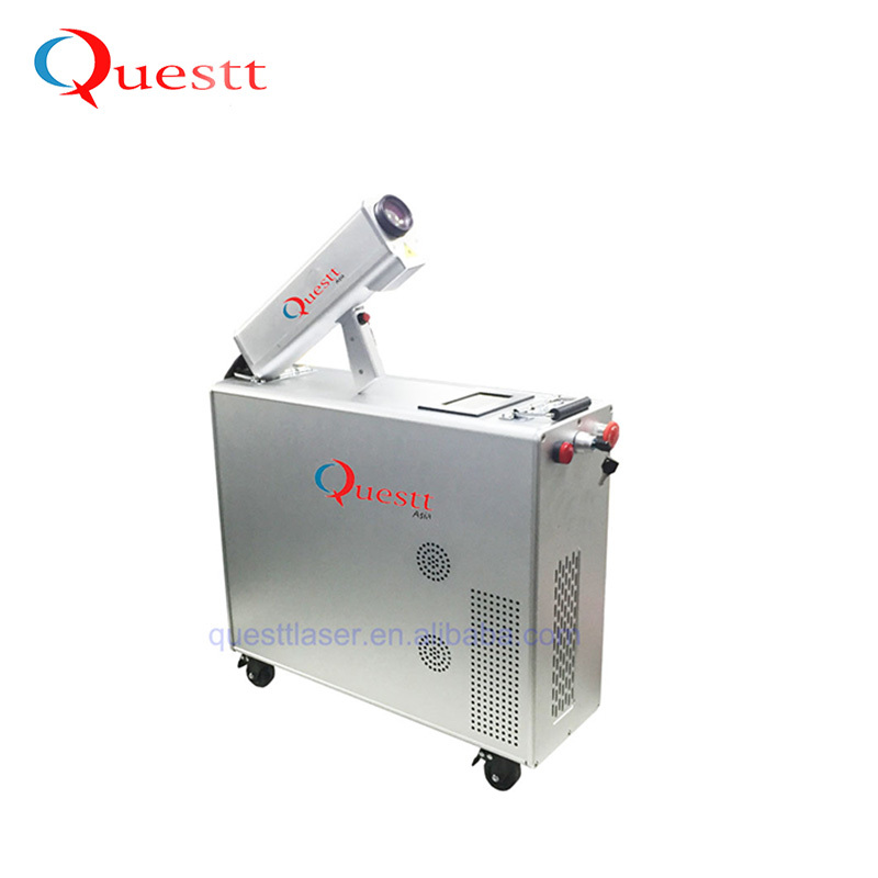 50W Laser Cleaning Machine for Graffiti and Rust