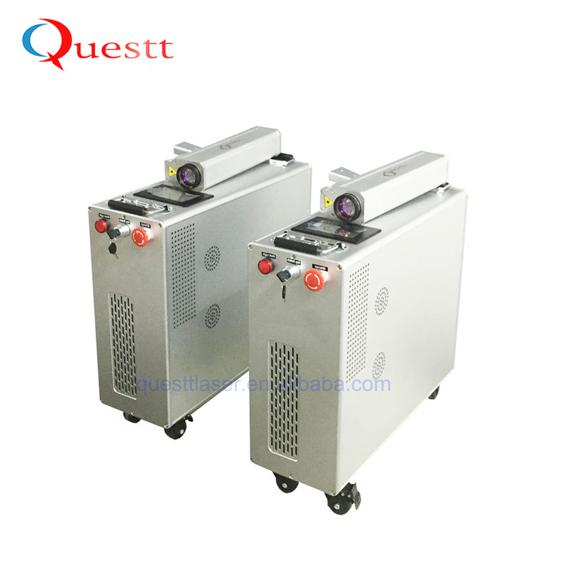 product-QUESTT-50W Laser Cleaning Machine for Graffiti and Rust-img