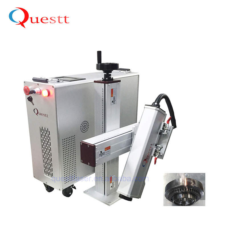 100W Laser Cleaning Machine For Historic Relics Restoration
