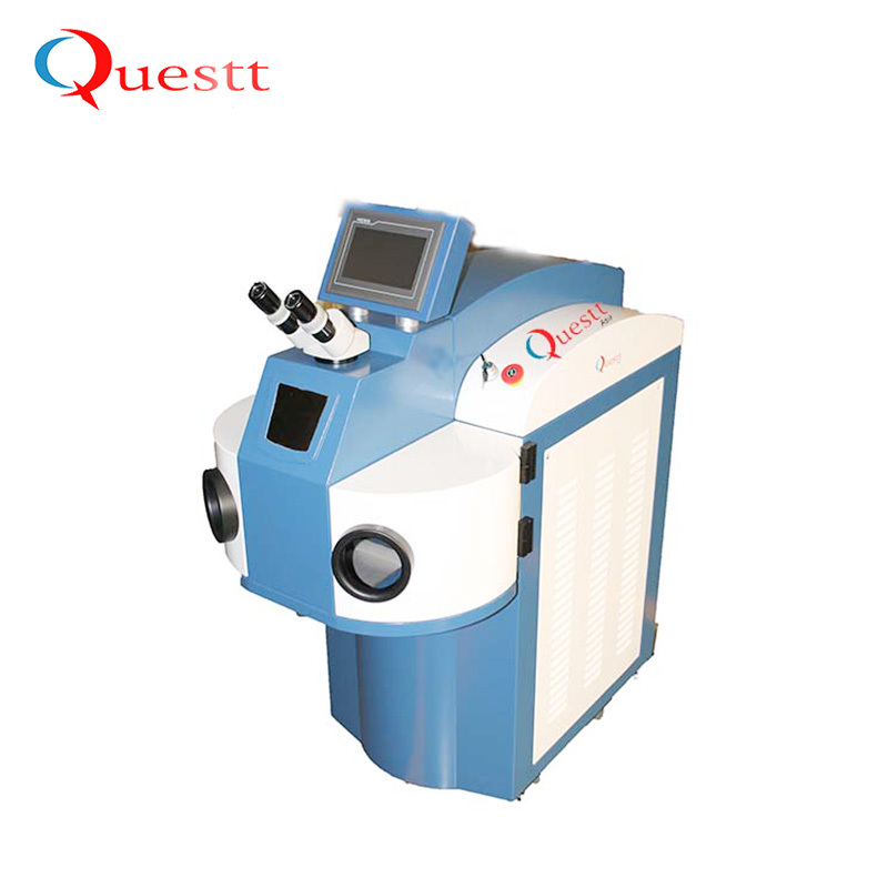 Stainless Steel Gold Jewelry Jewellery Desktop Portable Small Mini Yag 200W ccd Laser Welding Machine For Metal