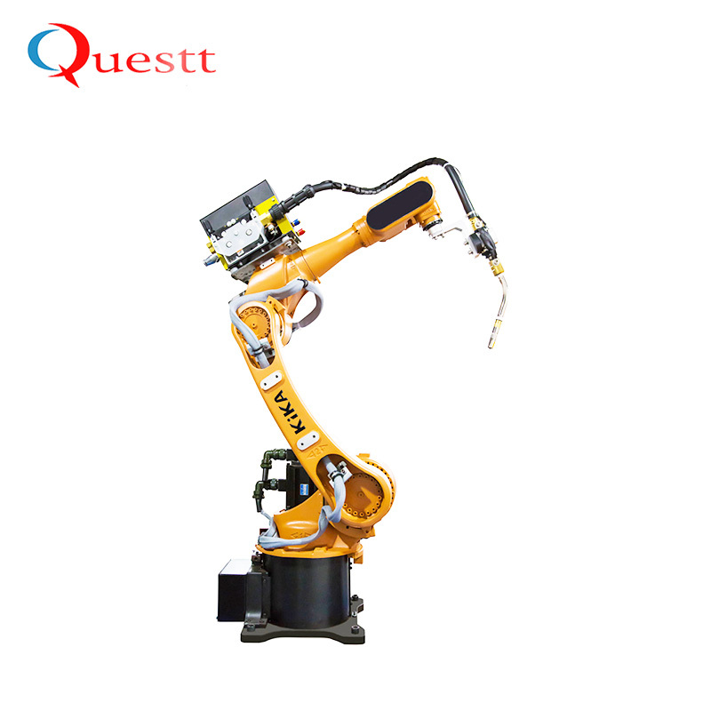 Automatic Laser Welding Machine System with Industrial Robot