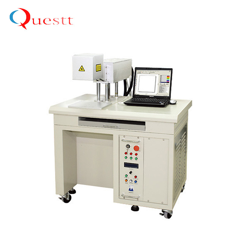 product-QUESTT-Raycus IpgMopa 20W 30W 50W 100W Fiber Laser Marking Machine For Metal,Watches,Camera,
