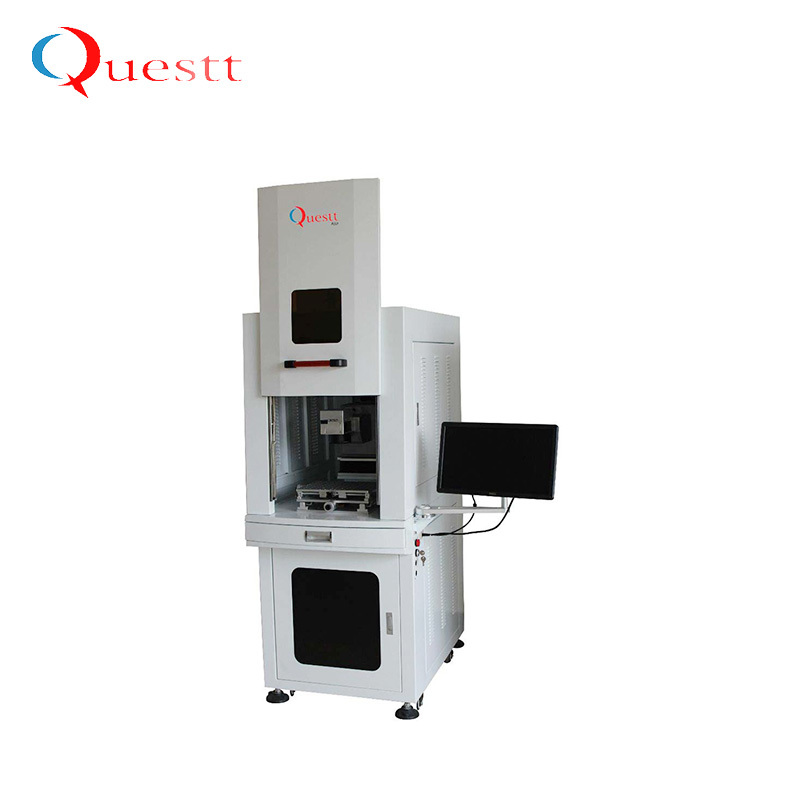 product-QUESTT-355nm 5w UV laser marking printing machine for glass PCB crystal etc-img