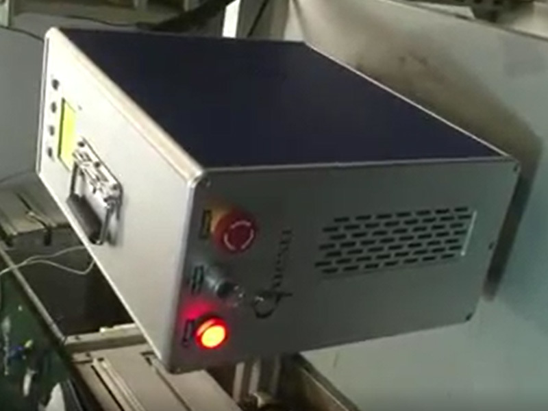 60W Laser Cleaning Machine for Graffiti and Rust