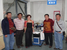 9Indonesia customer comes to check their fiber laser welding system for mold