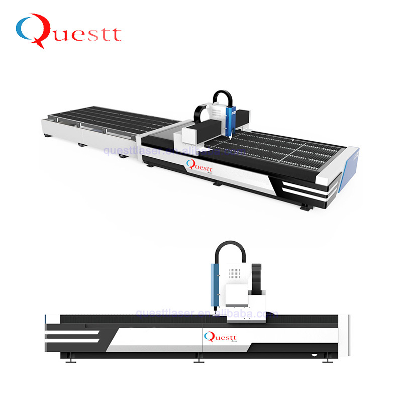 product-High Power 3kW Enclosed Fiber Laser Cutting Machine For Metal-QUESTT-img-1