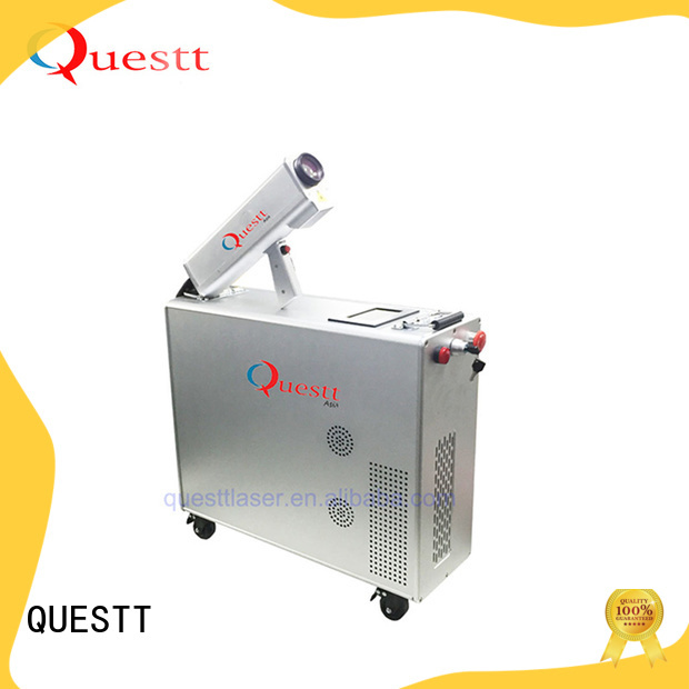 QUESTT laser rust cleaning machine from China for medical