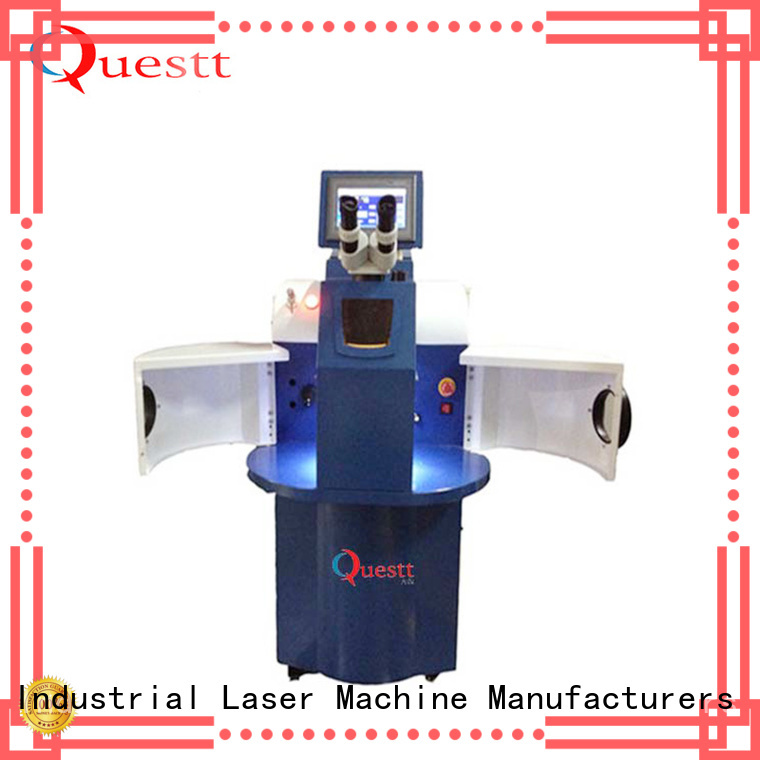 QUESTT automatic laser welding machine Factory price for welding of micro parts