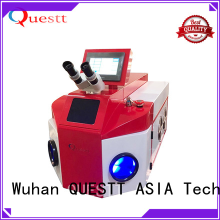 QUESTT Top jewelry fiber laser welding machine price manufacturer for small parts