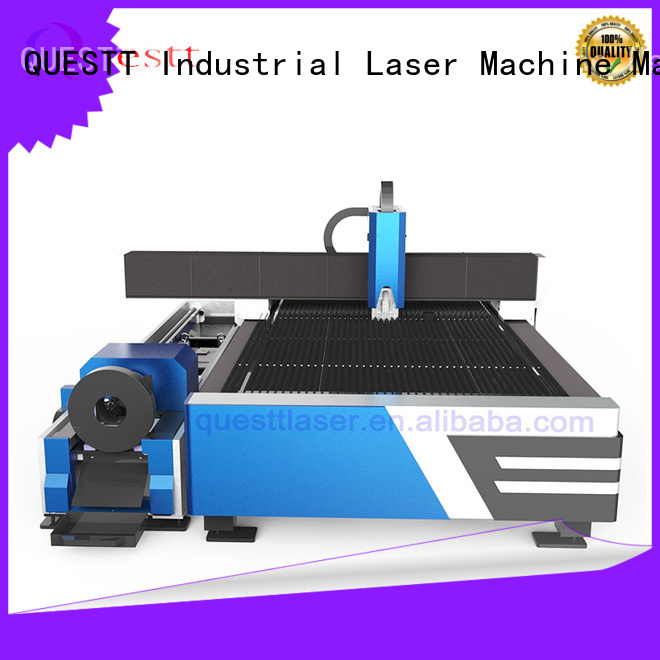 QUESTT cnc laser cutter for sale Chinese producer for remove the surface material