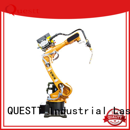 QUESTT 360 robotic laser welding system factory for small parts