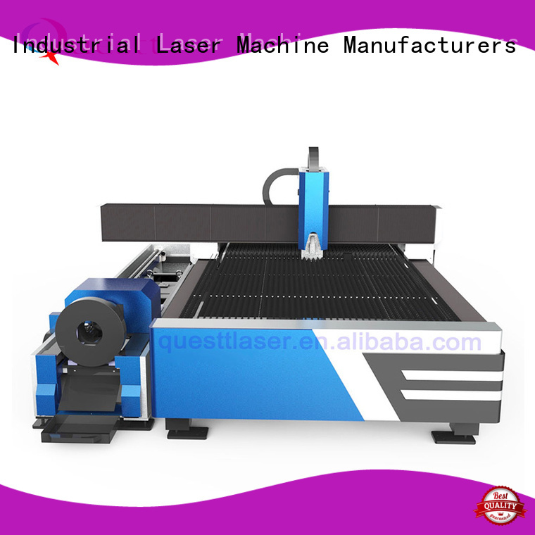QUESTT stable cutting quality laser metal cutting machine Factory price for laser cutting Process