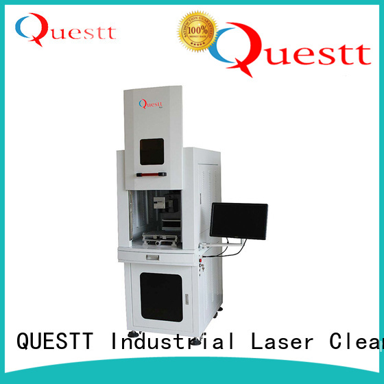 QUESTT uv laser marking machine price supplier for polymer films