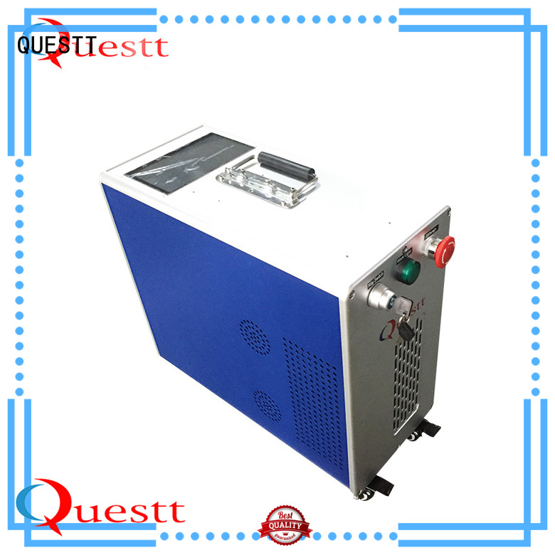 QUESTT Easy to install laser metal cleaning machine for cultural relic protection