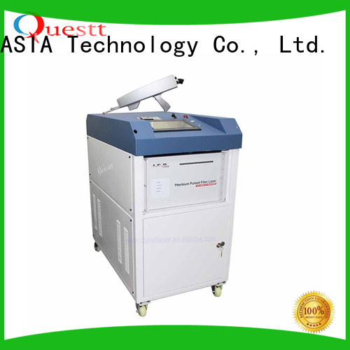 QUESTT quality laser rust cleaning machine Factory price For Cleaning Glue