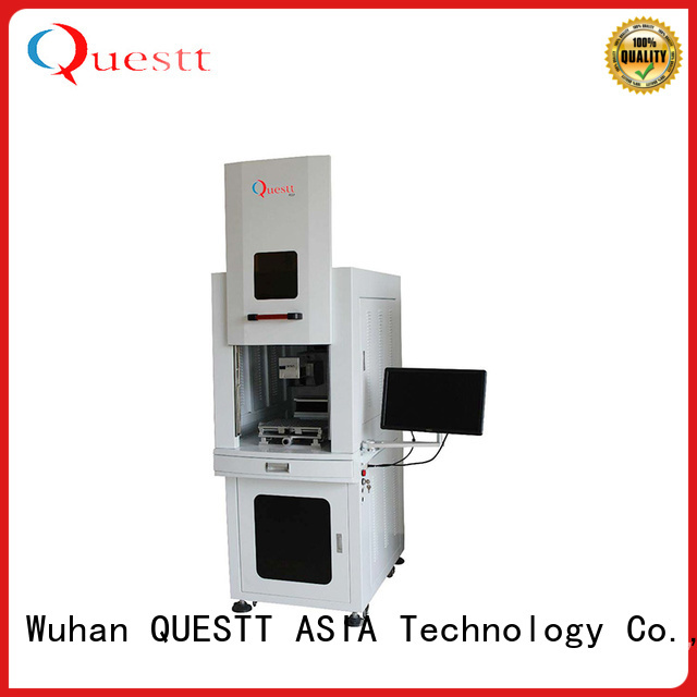 QUESTT widely use laser marking machine in china price for chip ceramics