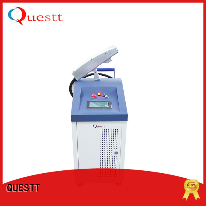 QUESTT laser cleaning machine price factory for medical