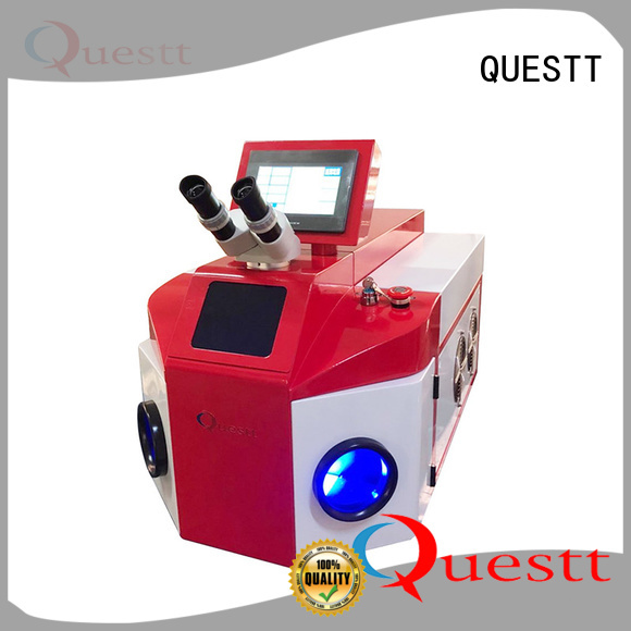 QUESTT jewelry fiber laser welding machine price in China for industry