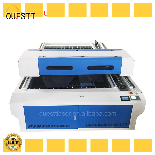 QUESTT low energy consumption co2 laser cutting machine price from China for laser cutting