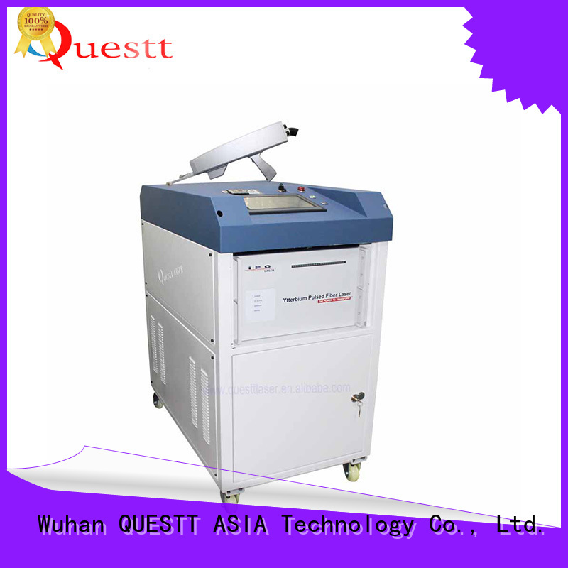 QUESTT Simple operation laser clean all price Chinese producer For Rust Removal