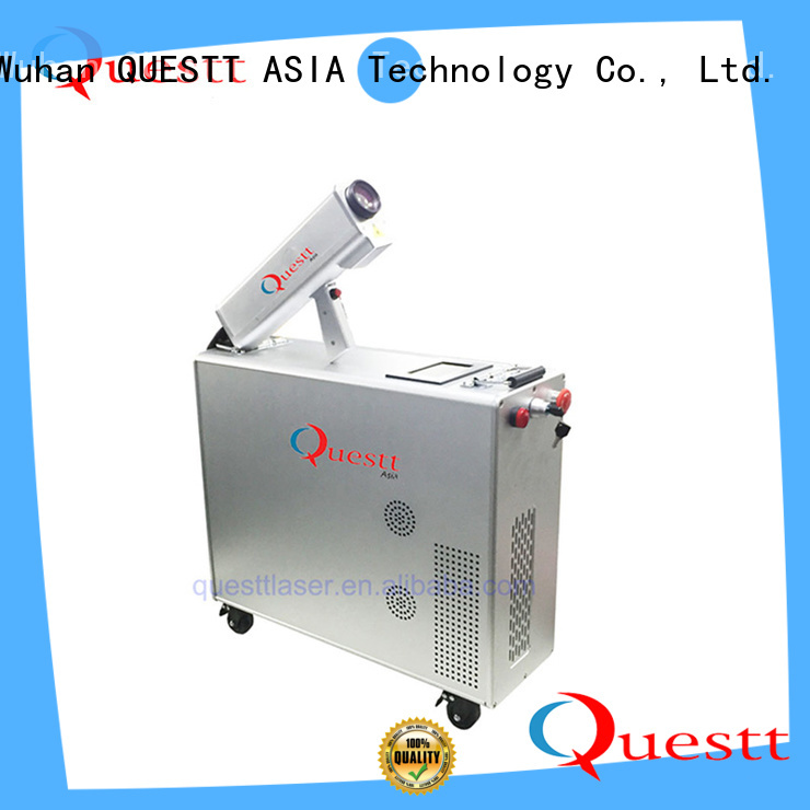 QUESTT 1000w laser rust removal price for business for Graffiti and Rust