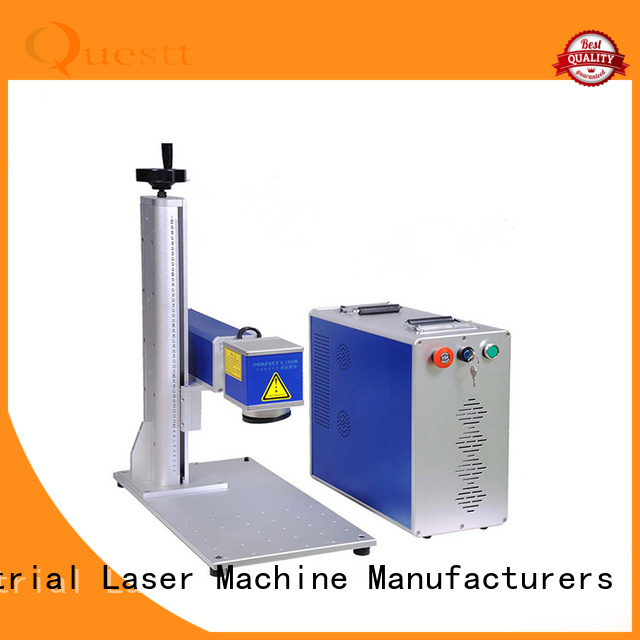 QUESTT fiber laser marking machine price Factory price for support harsh working environment