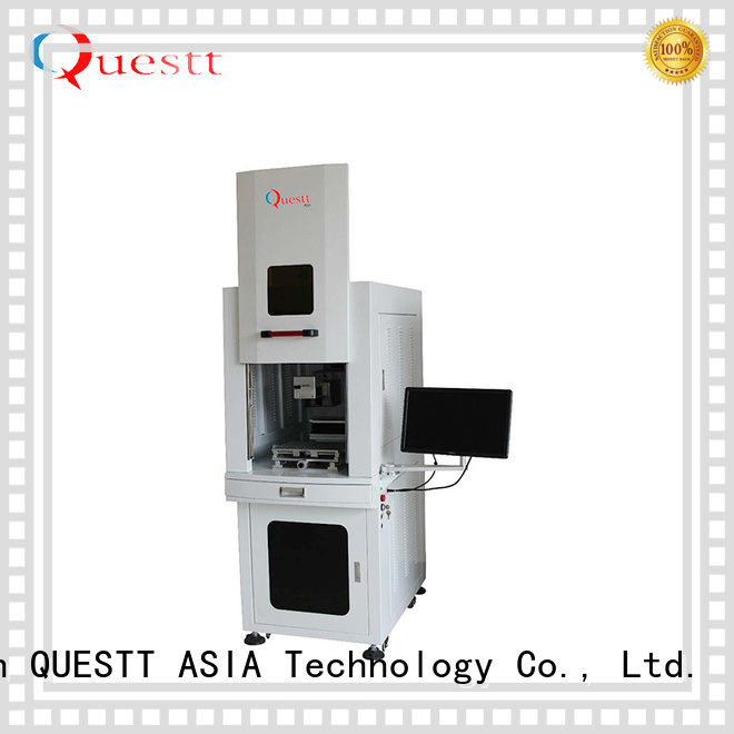 QUESTT laser marker from China for anti-counterfeiting of products