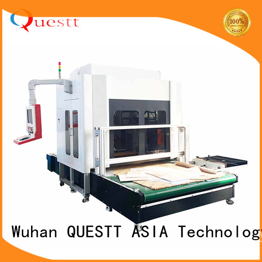 QUESTT Latest 3d laser marking system price for bamboo products