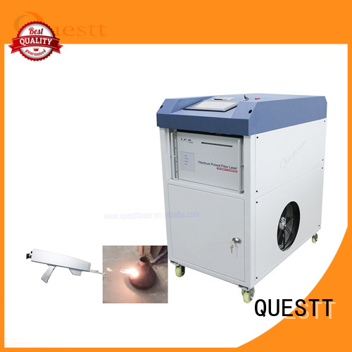QUESTT quality laser cleaning machine price For Cleaning Glue