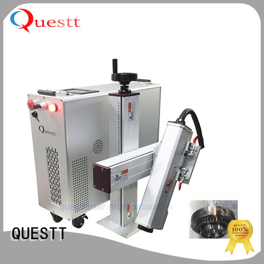 QUESTT laser cleaners for sale for aerospace, automotive