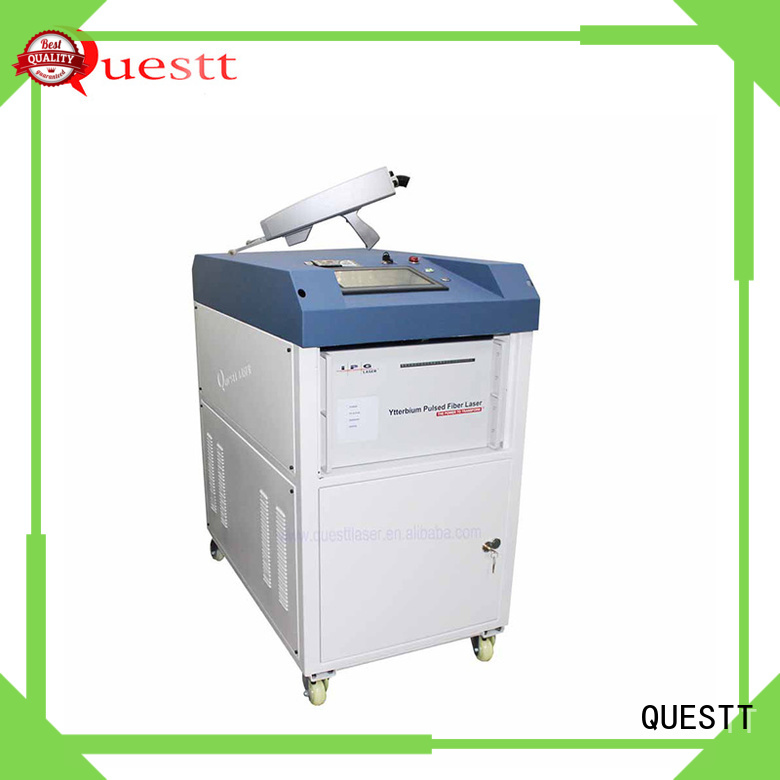 QUESTT Custom laser rust removal machine manufacturer for construction, nuclear power