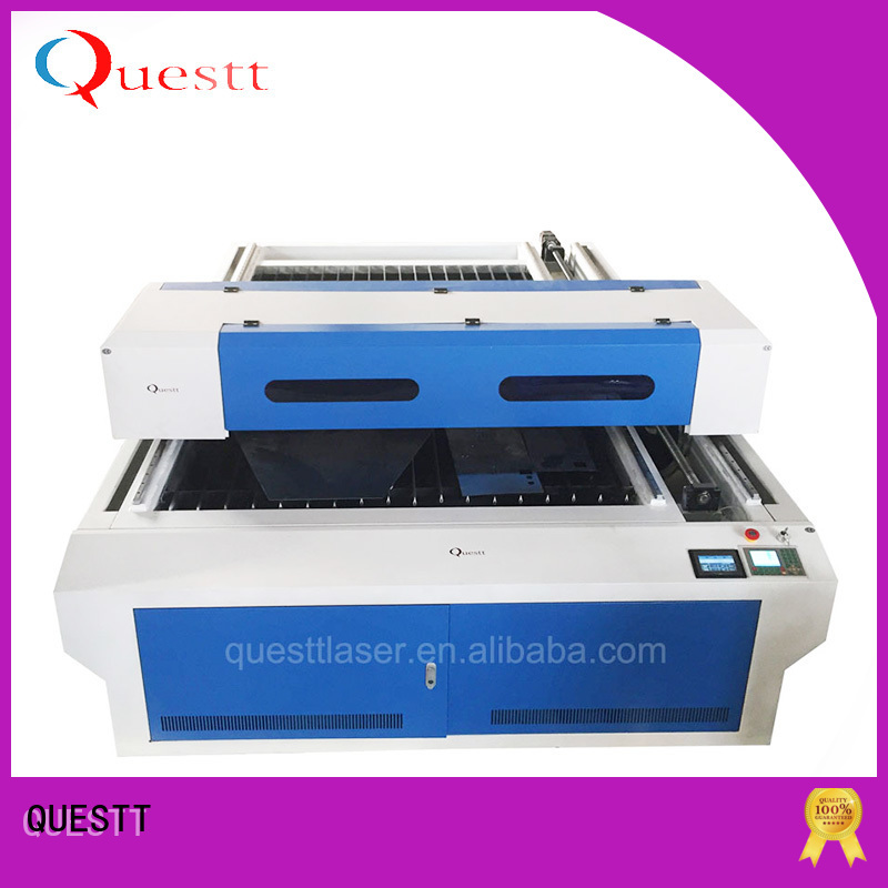 QUESTT higher precision co2 laser cutting machine manufacturers Factory price for laser cutting Process
