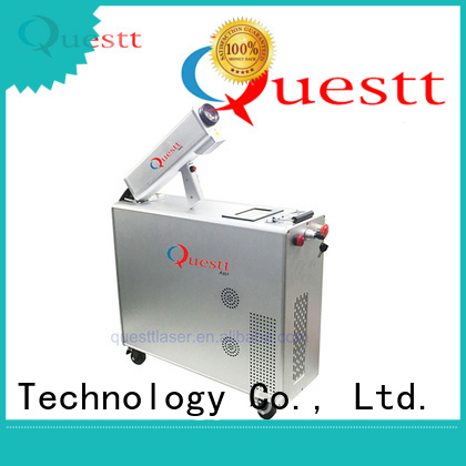 QUESTT p laser rust cleaner manufacturers for microelectronics
