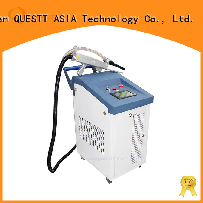 QUESTT New laser rust removal laser machine in China For Historic Relics Restoration