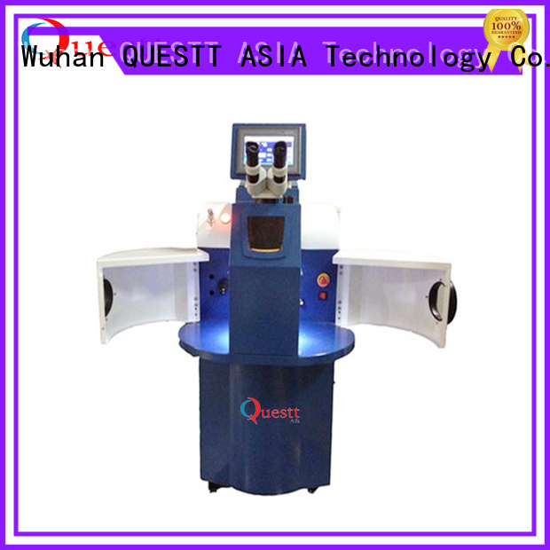 QUESTT laser welding machine price manufacturers for welding of jewelry