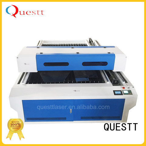 QUESTT high-speed co2 laser cutting machine Supply for industry