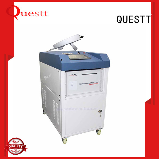 QUESTT Simple operation jewelry laser welding machine manufacturers For Cleaning Graffiti