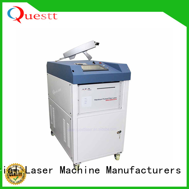 QUESTT laser metal cleaner price in China For Cleaning Graffiti