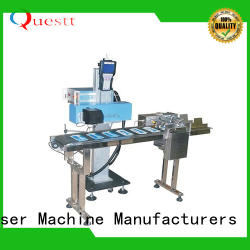 lower running cost laser marking and engraving machine price for industry