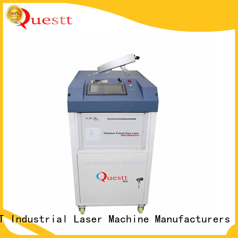 QUESTT Simple operation laser cleaning equipment for sale price for medical