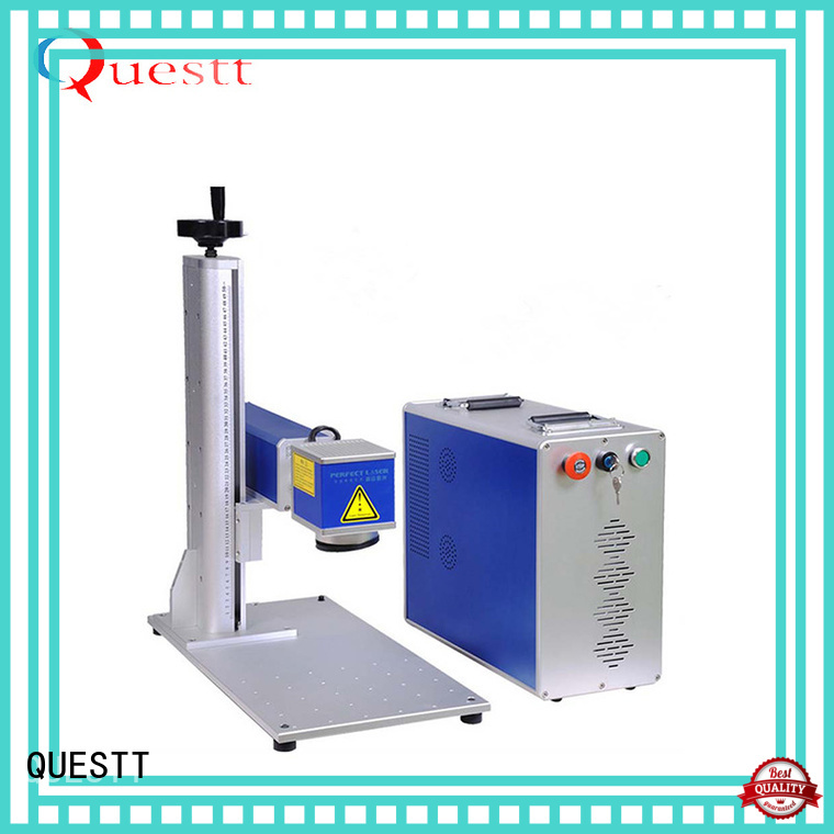 QUESTT custom laser marking machine Chinese producer for the application facilities
