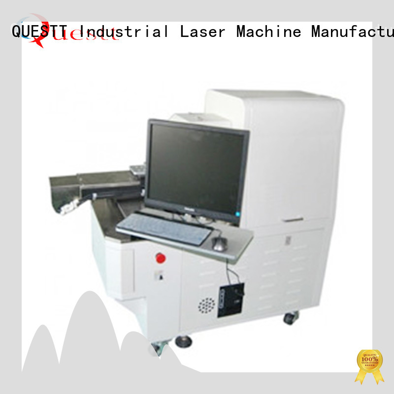 QUESTT Wholesale laser stripping machine factory for metal surface laser machining