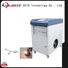 QUESTT automate laser paint removal custom for aerospace, automotive