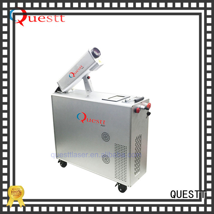 QUESTT Best rust cleaning laser factory for Automobile Restoration