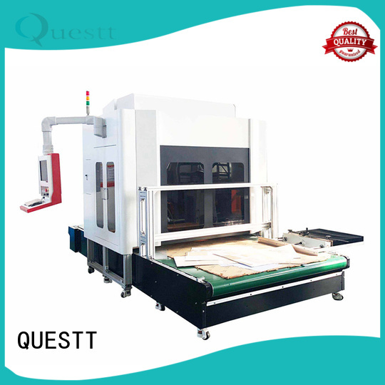 QUESTT large marking area laser marking machine manufacturers Supply for marble
