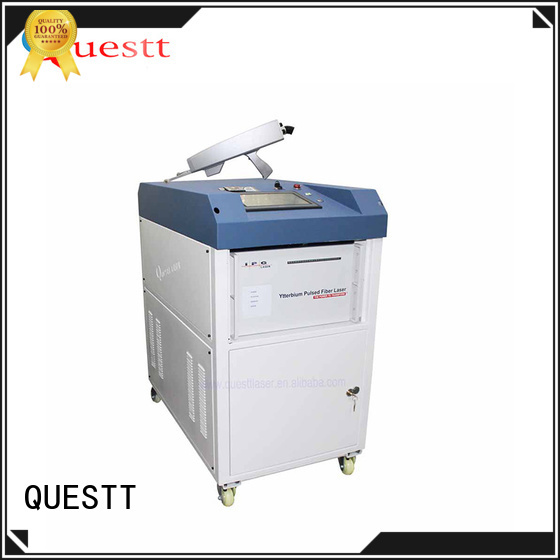 QUESTT laser rust cleaning machine price For Cleaning Glue