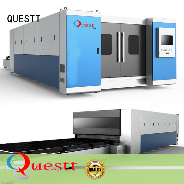 QUESTT sheet metal laser cutter for sale from China for industry